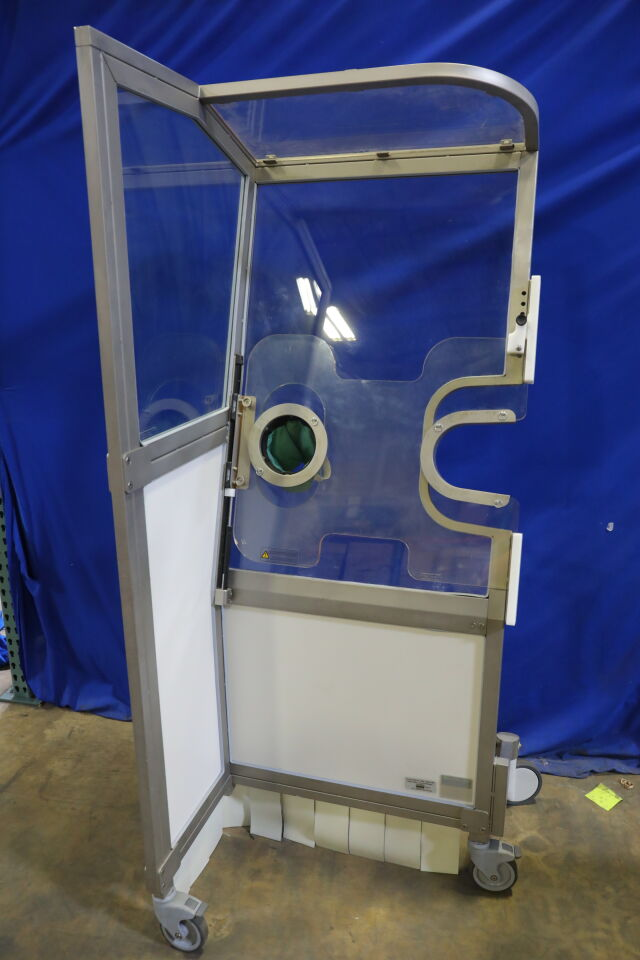 LEMER PAX Cathpax Single Mobile Radiation Protection Cabin