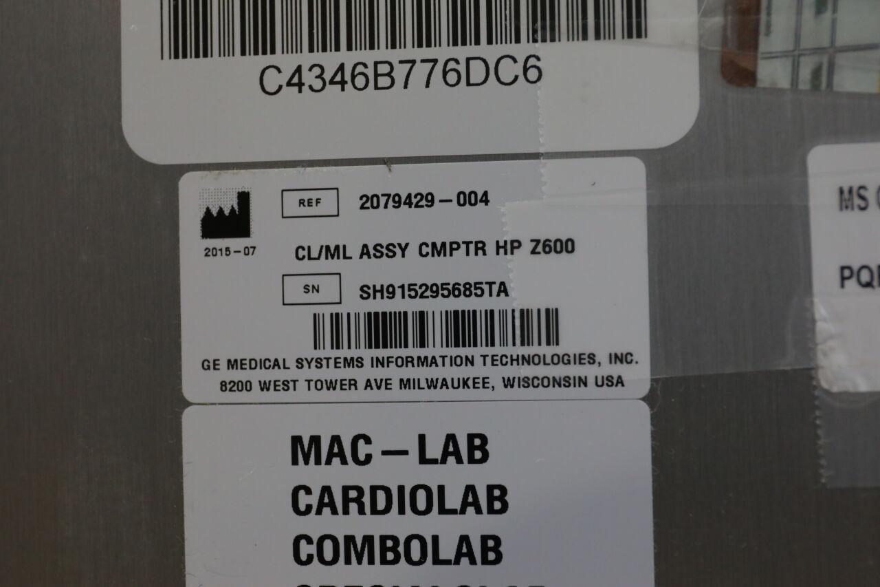 HP Z600 Computer