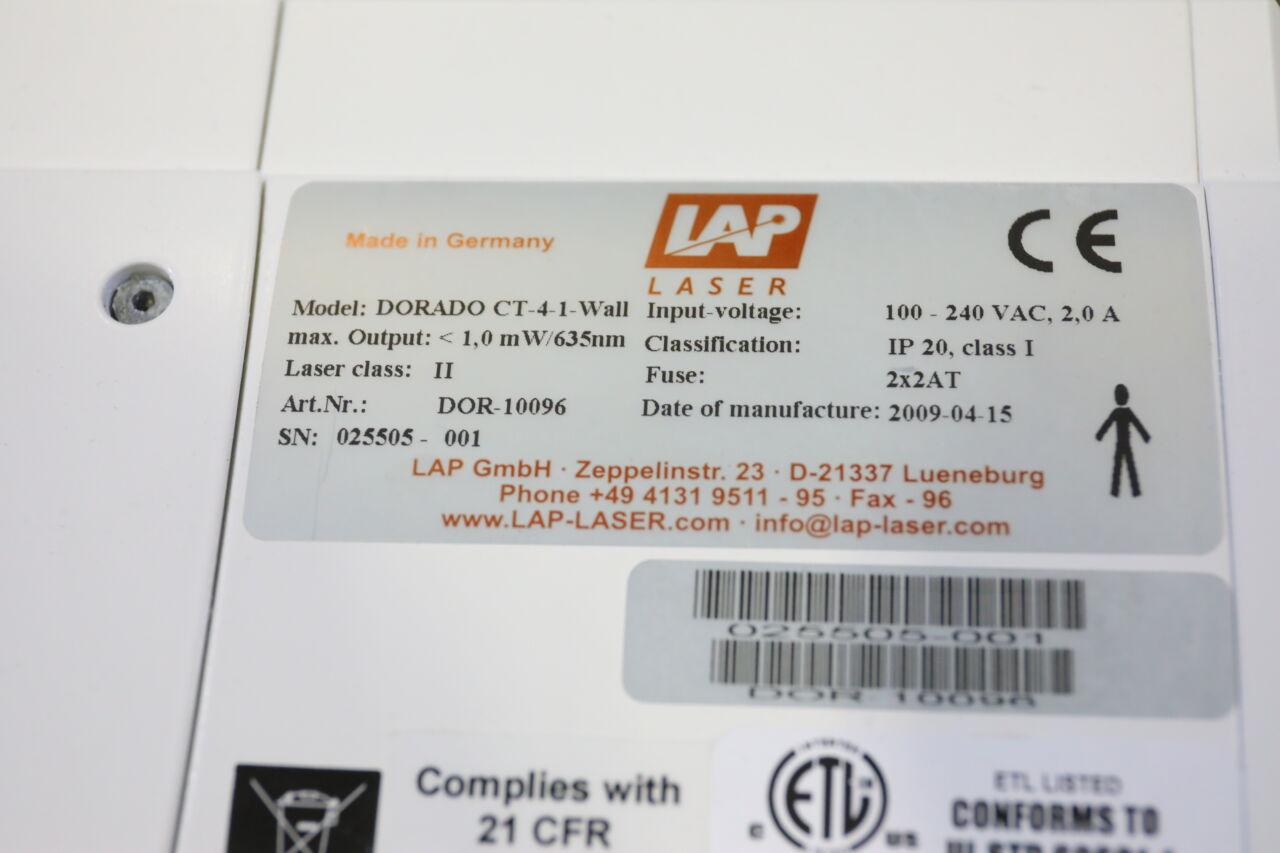 LAP DORADO CT-4-1-Wall Laser Measurement