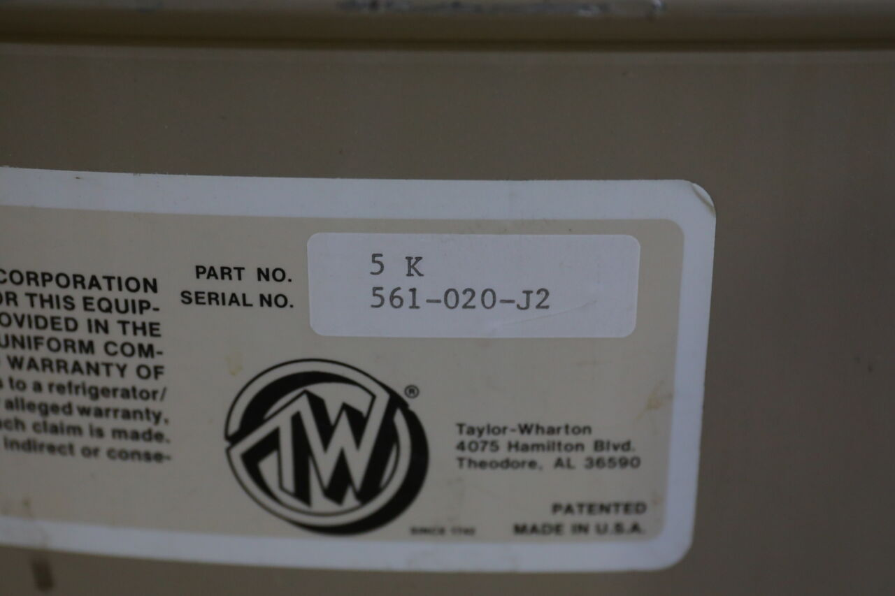 TAYLOR-WHARTON 5K Series Refrigerator Freezer