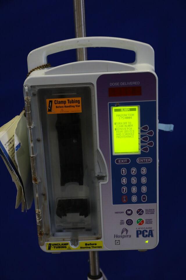 HOSPIRA Lifecare PCA Pump IV Infusion