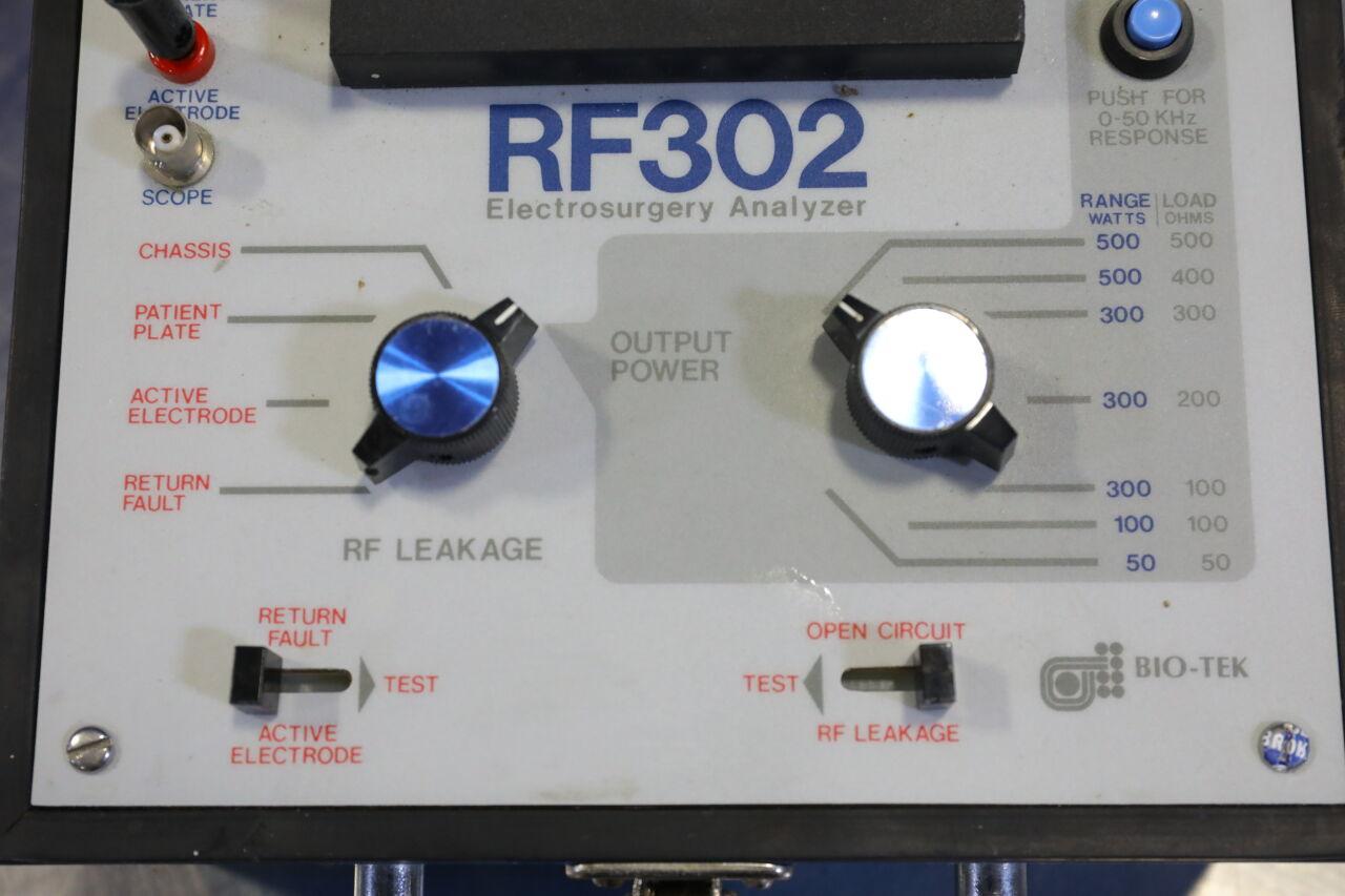 BIO-TEK RF 302 Electrical Surgical Tester