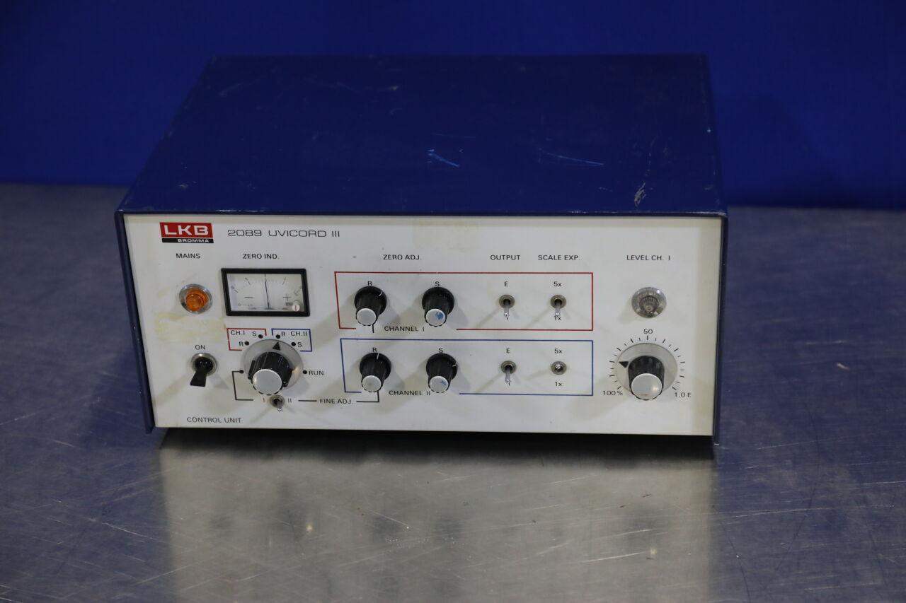 LKB BROMMA 2089 Uvicord III UV Detector