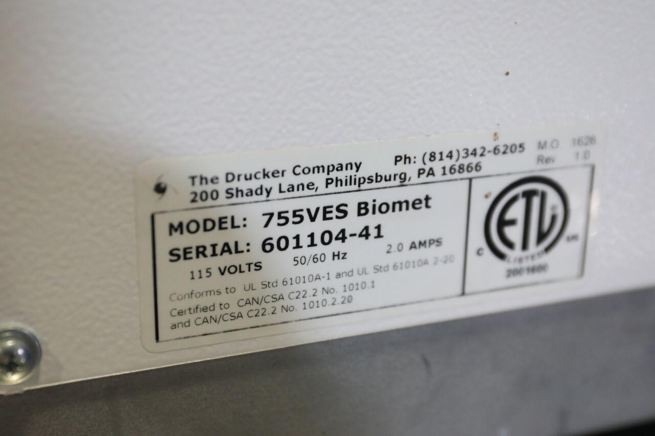 DRUCKER 755VES Biomet Centrifuge
