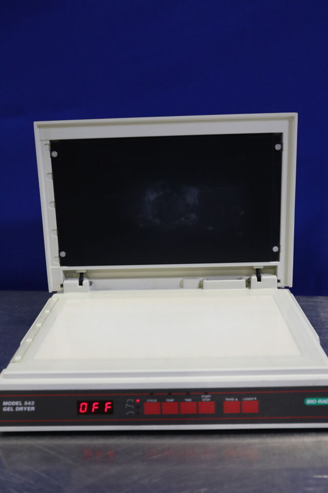 BIO-RAD Gel Dryer 543 Electrophoresis Unit