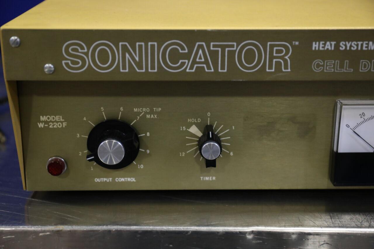 HEAT SYSTEMS ULTRASONICS W-220 Sonicator Cell Disruptor