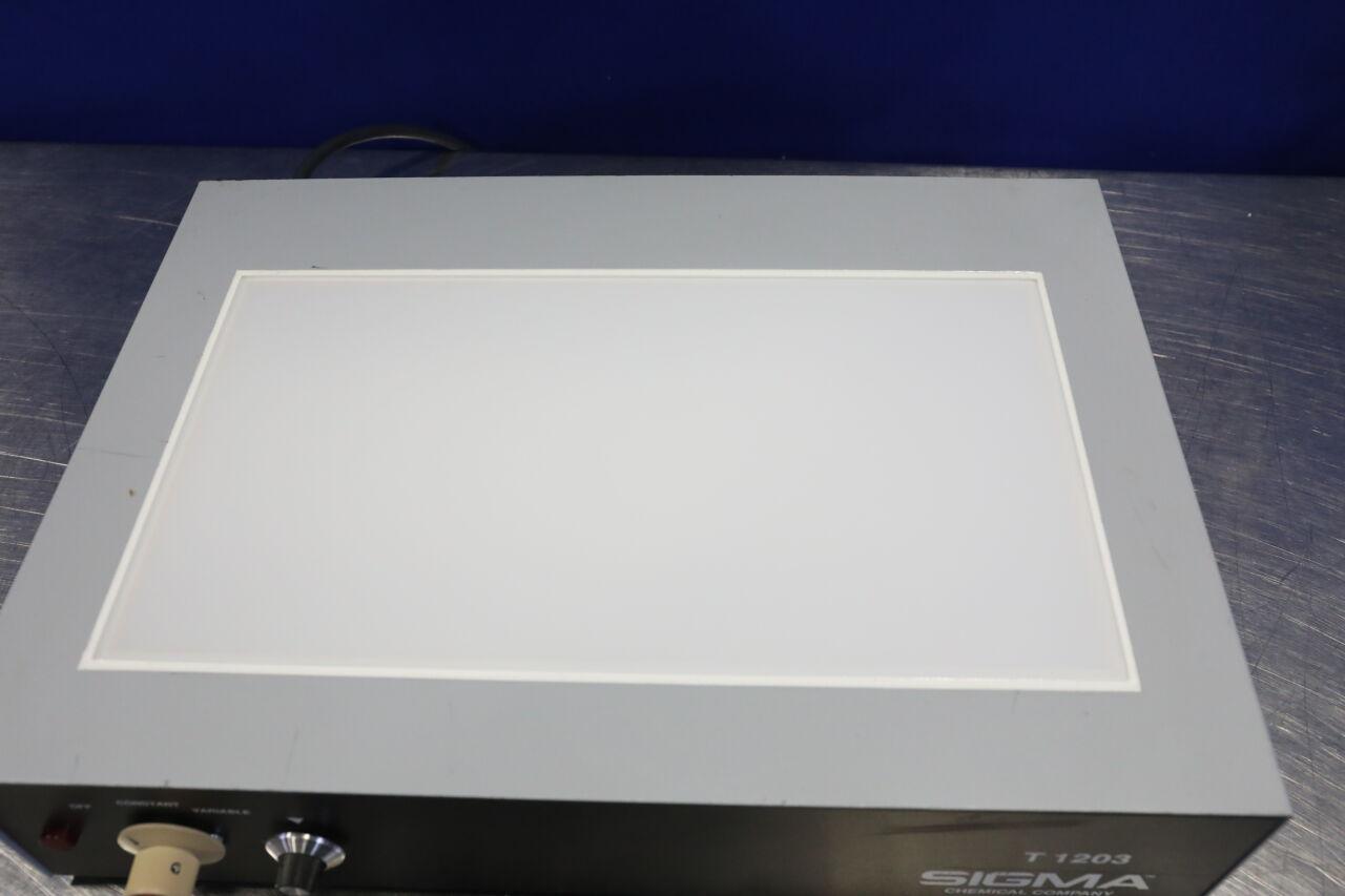 SIGMA CHEMICAL COMPANY 16-3700 Transilluminator UV Light