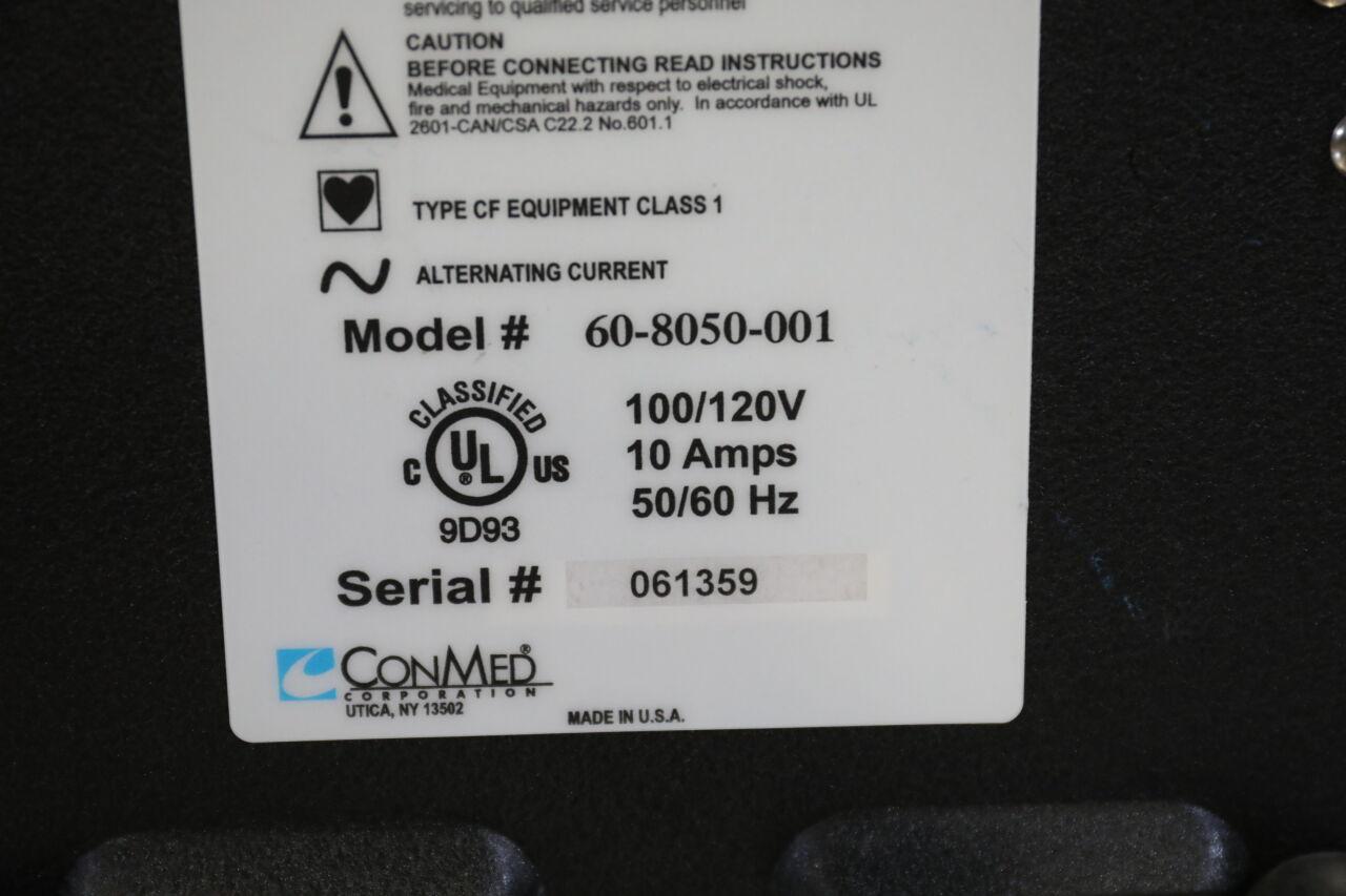 CONMED System 1200 Smoke Evacuator