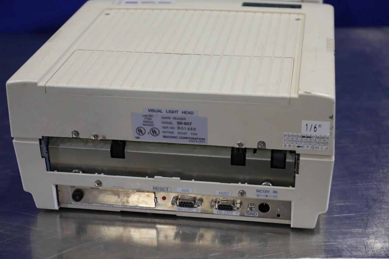 SEKONIC SCANNING SYSTEMS SR-607 Scanner
