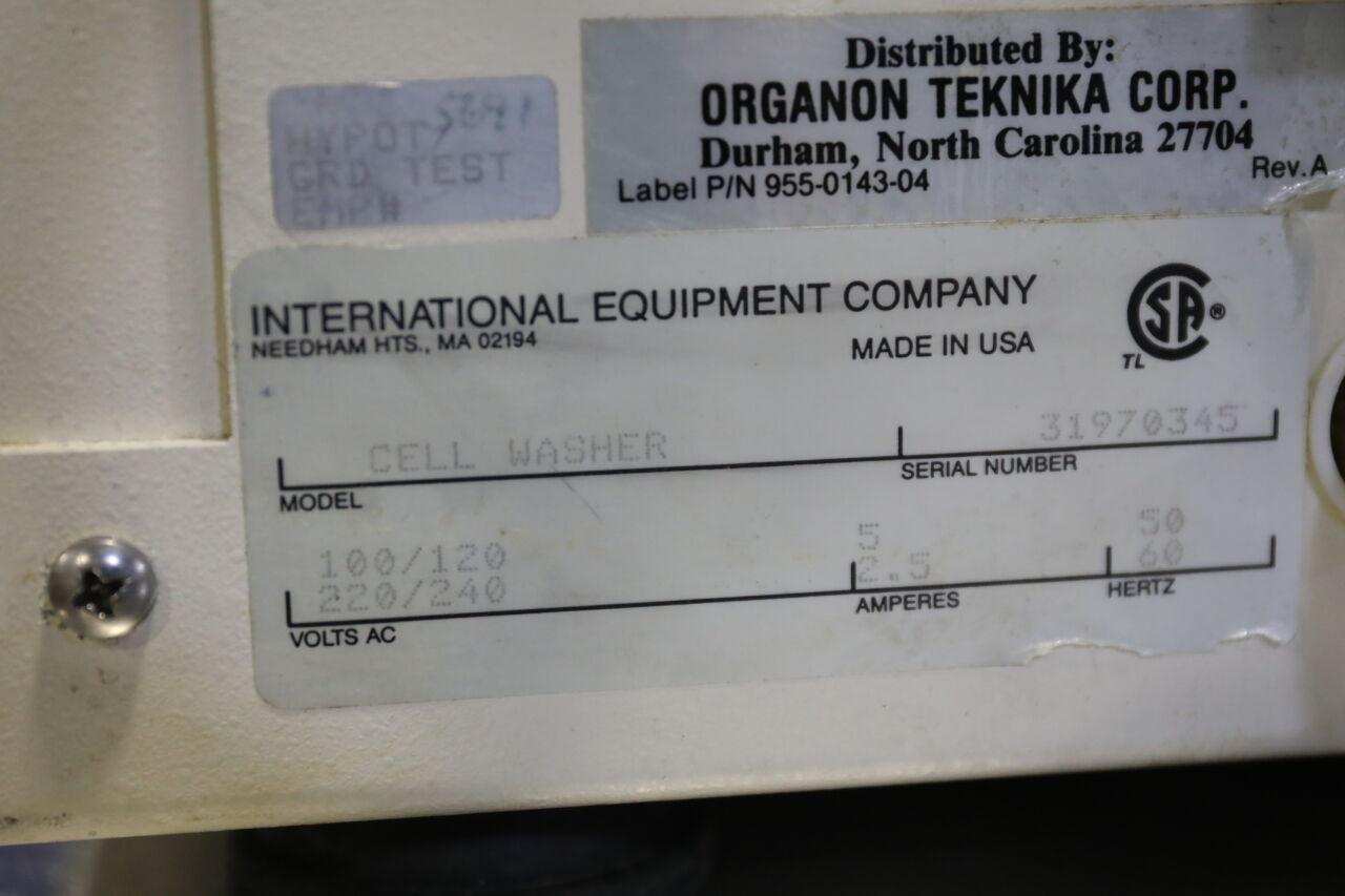 ORGANON TEKNIKA 955-0143-04 Cell Washer