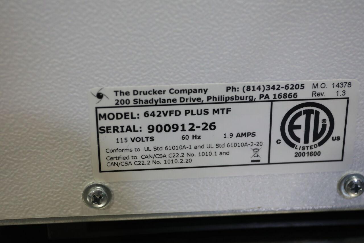 DRUCKER 642VFD Plus Centrifuge