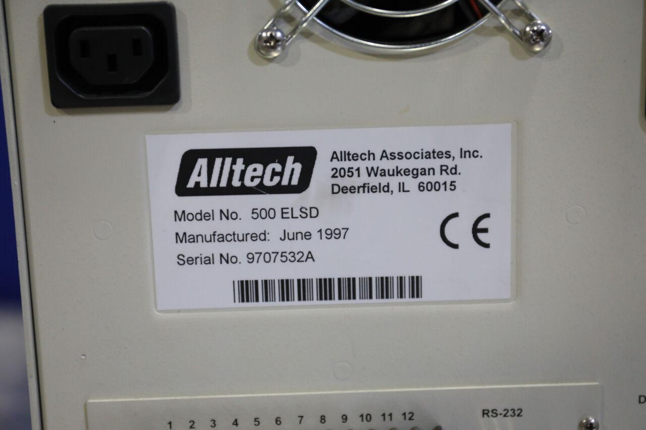 ALLTECH 500 ELSD LTA Light Scattering Detector