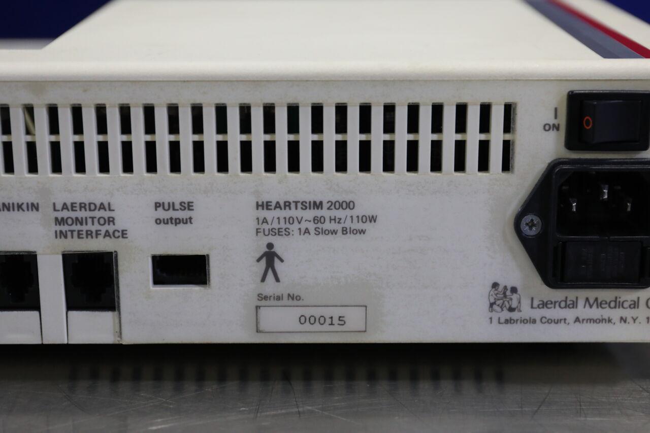 LAERDAL Heartsim 2000 ECG Simulator