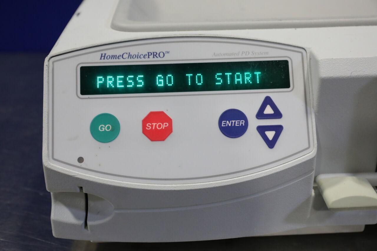 BAXTER Homechoice Pro Dialysis Machine