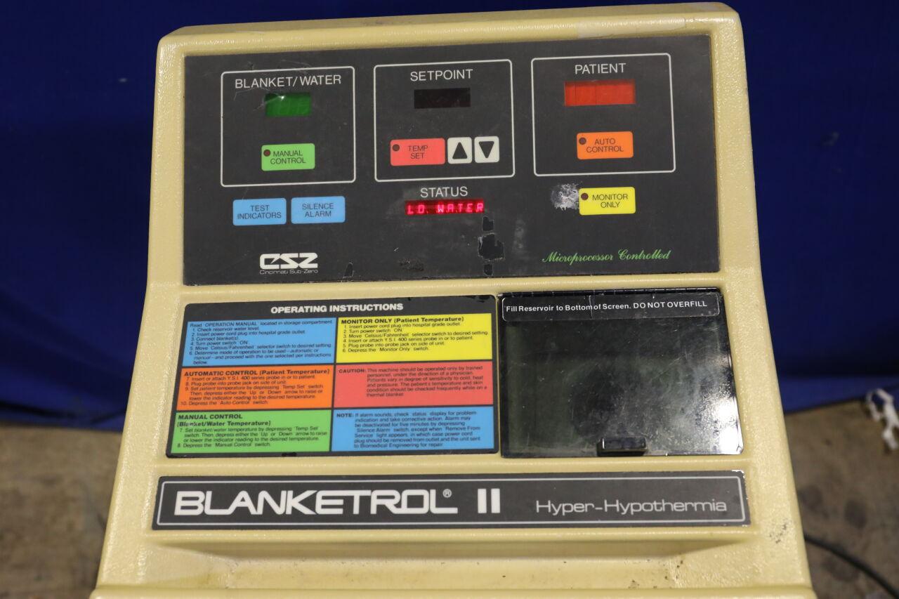 CINCINNATI SUB-ZERO Blanketrol II Hypothermia Unit