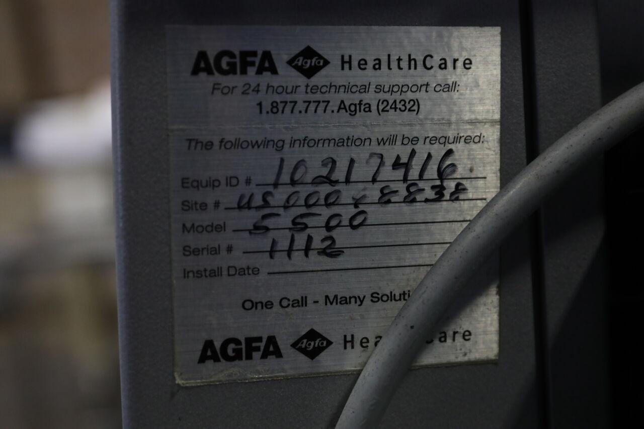 AGFA 5500 Dry Camera