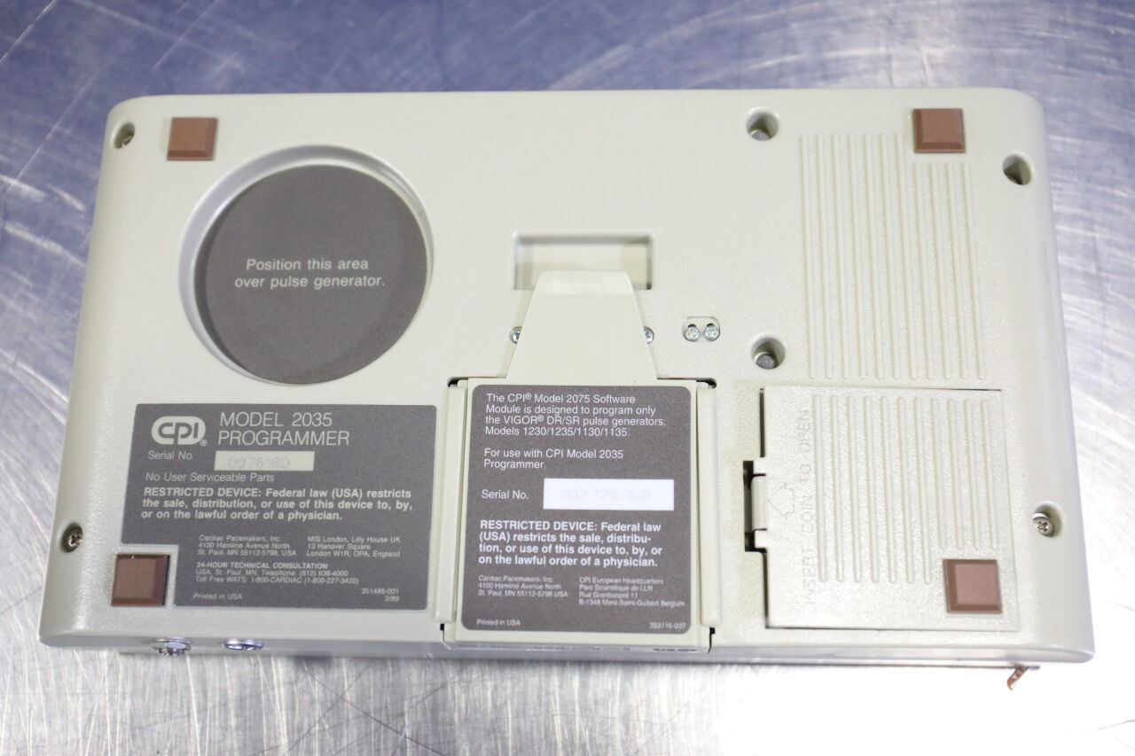 CARDIAC PACEMAKERS INC 2035 Pacemaker Tester