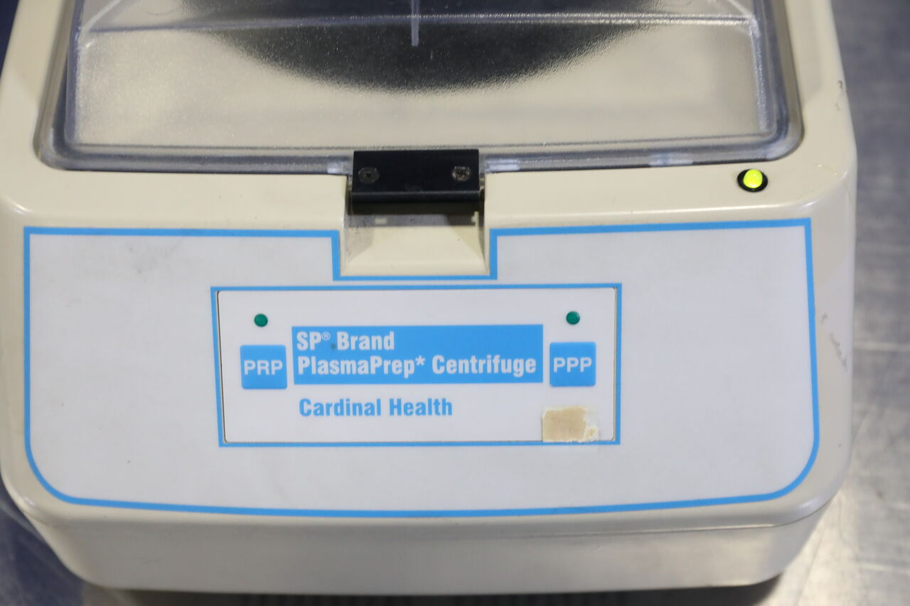 CARDINAL HEALTH SP Brand PlasmaPrep Centrifuge