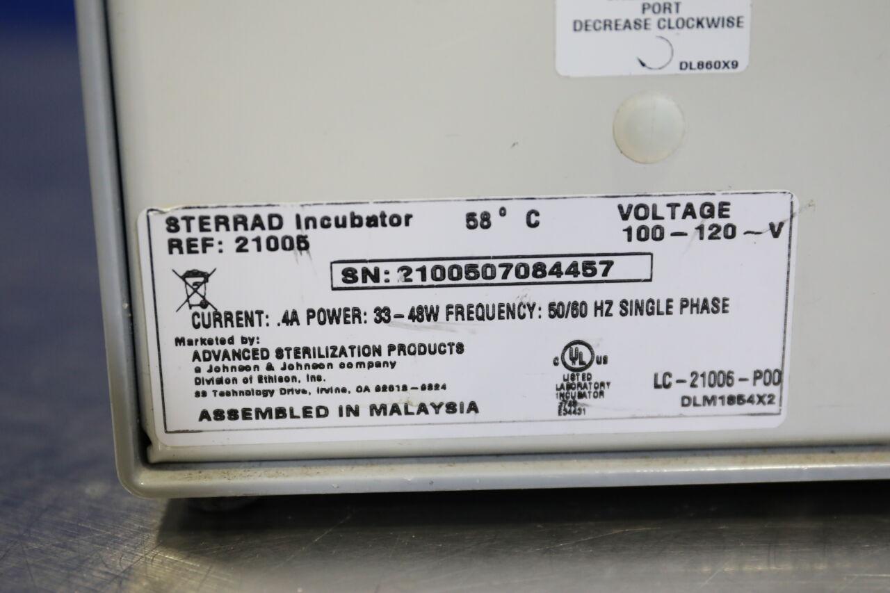 ASP STERRAD 21005 Incubator