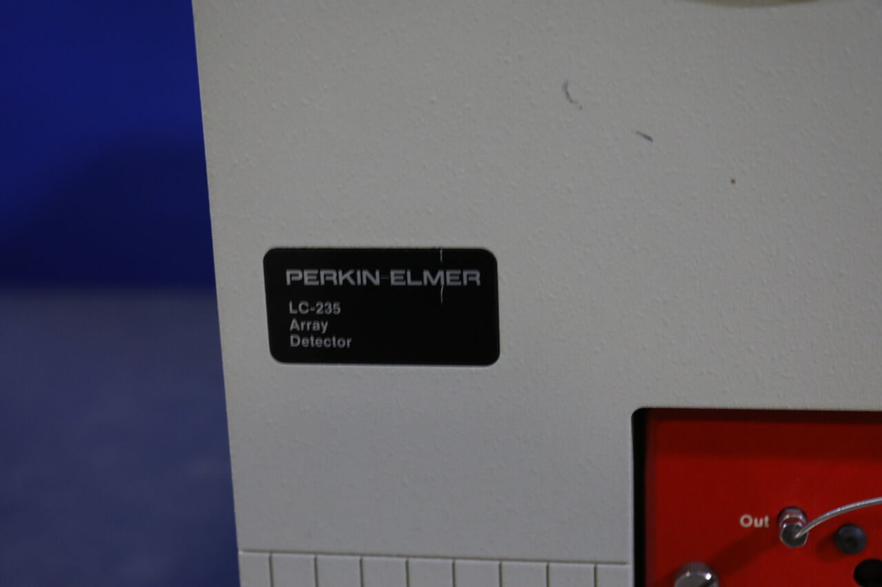 PERKIN-ELMER LC-235 Diode Array Detector
