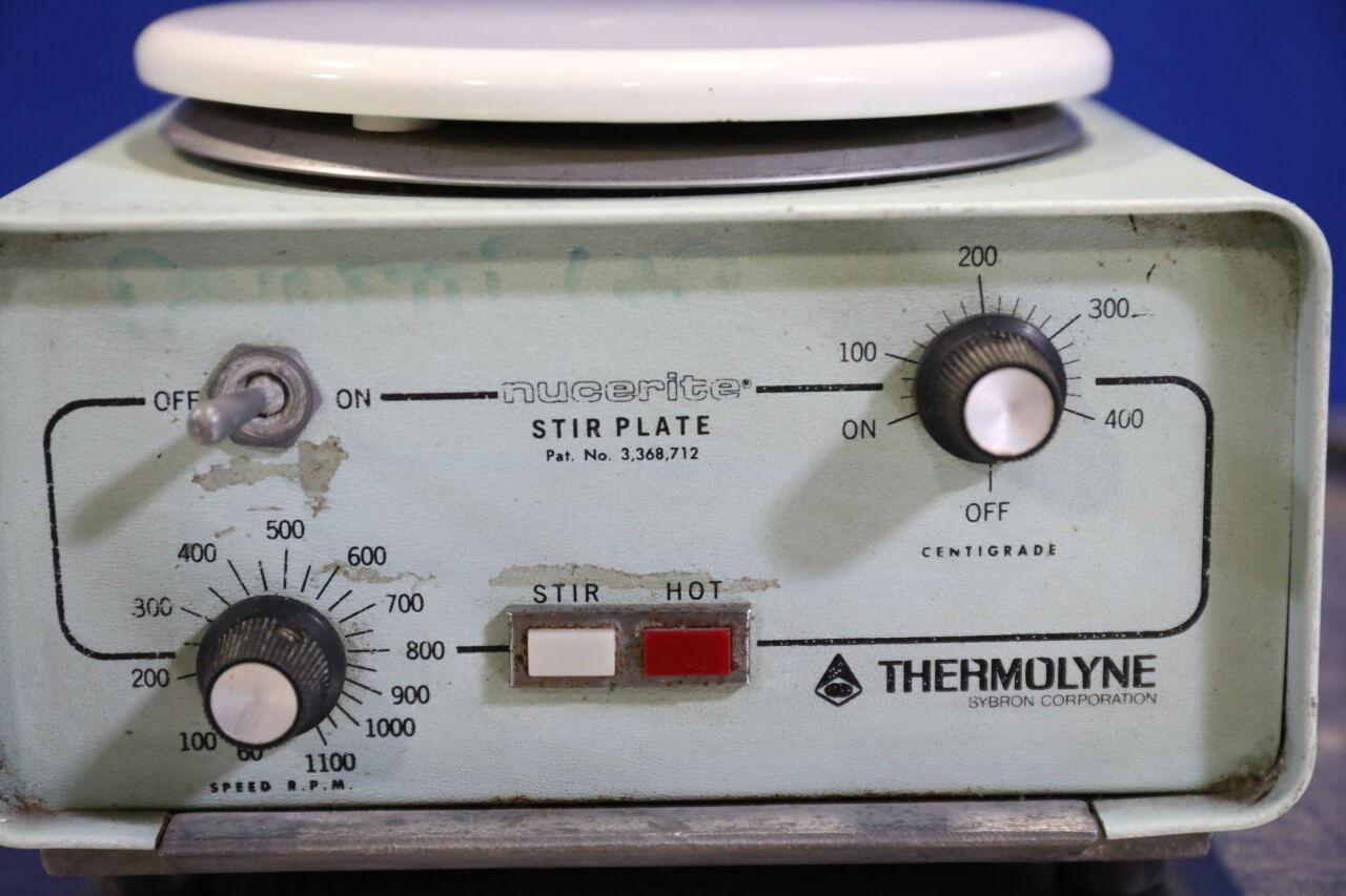 THERMOLYNE SYBORN Nucerite SP-11715 Hot , Stir Plate
