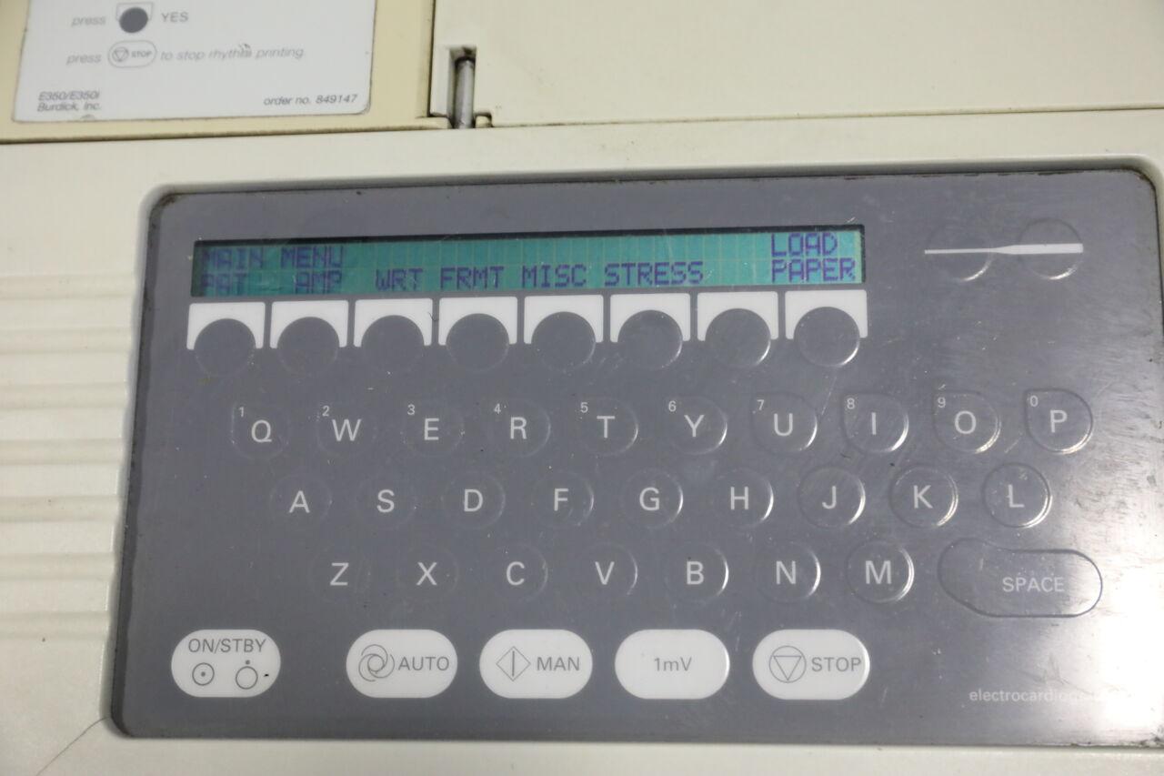 BURDICK E350 EKG