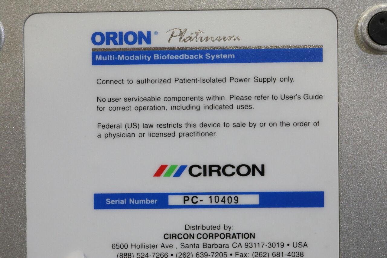 CIRCON Orion Platinum Biofeedback Device
