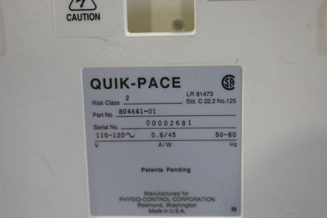 PHYSIO-CONTROL Quick Pace Defibrillator