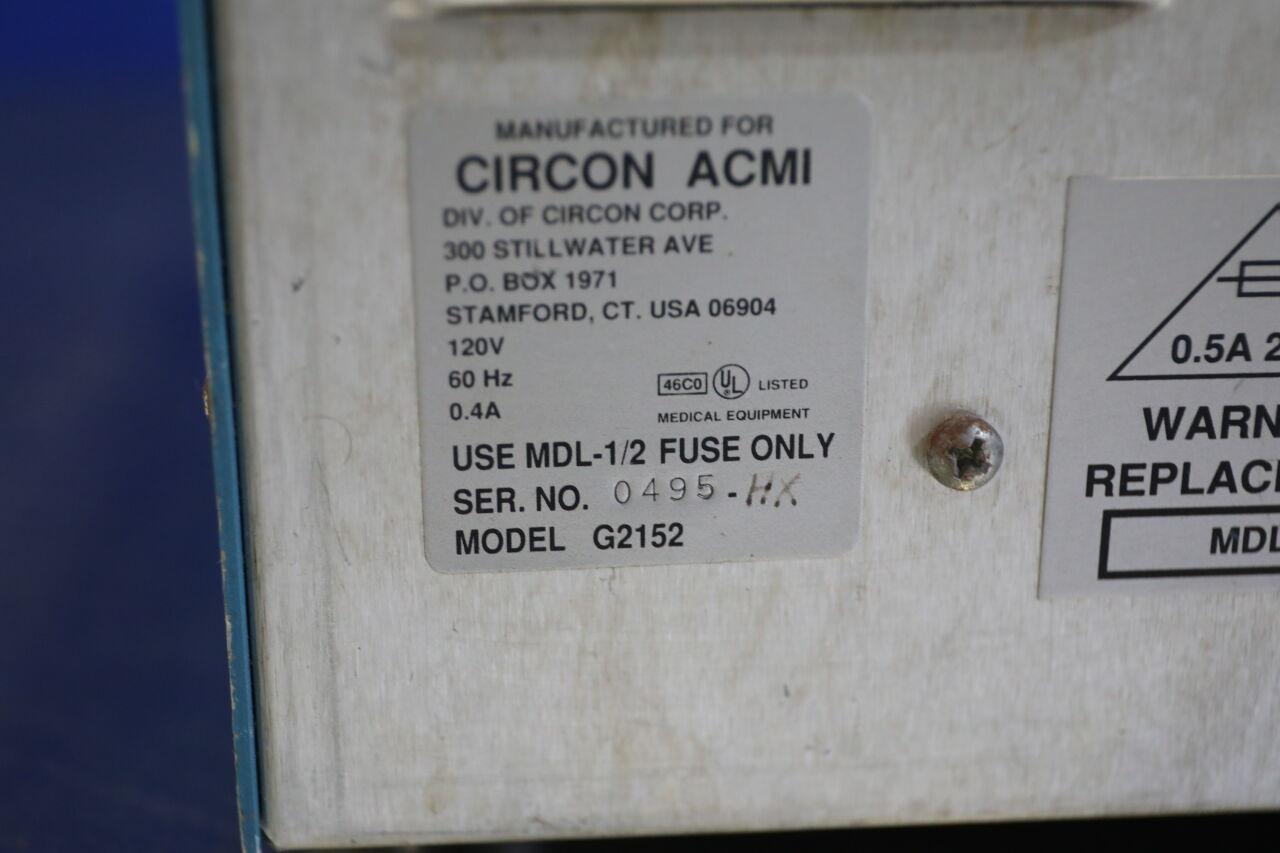 CIRCON ACMI G2152 Arthroscopy Pump