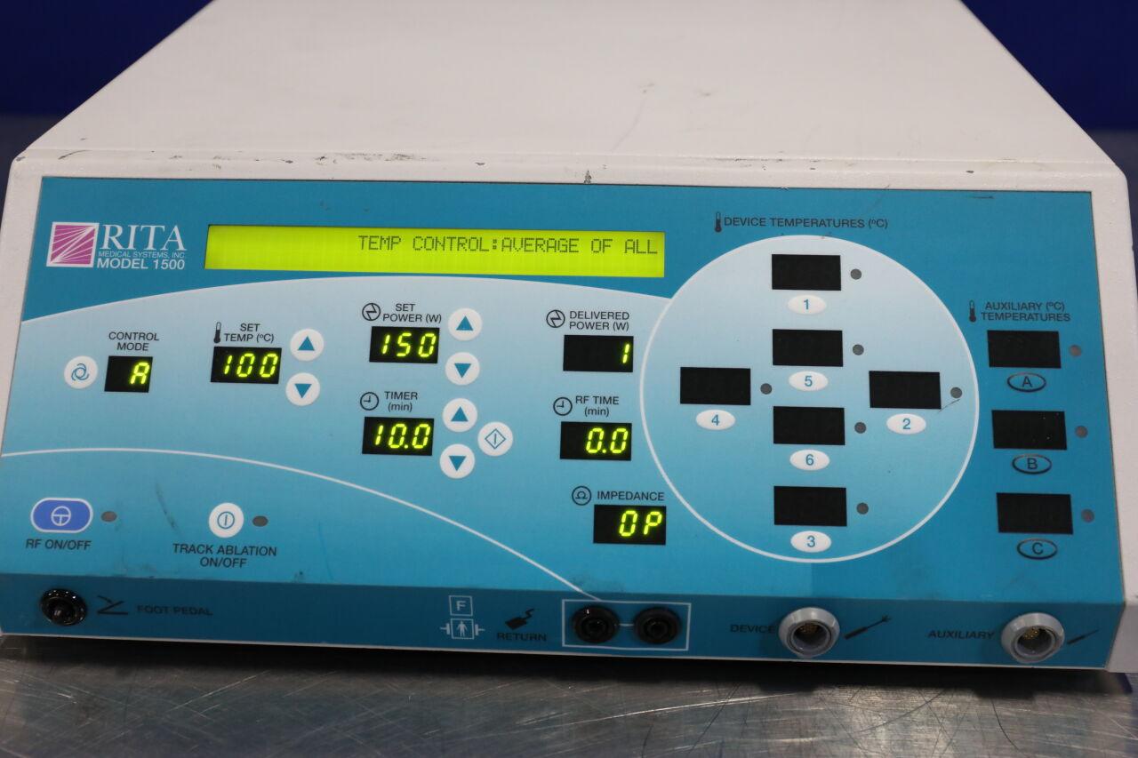 RITA MEDICAL 1500 Series Electrosurgical Unit