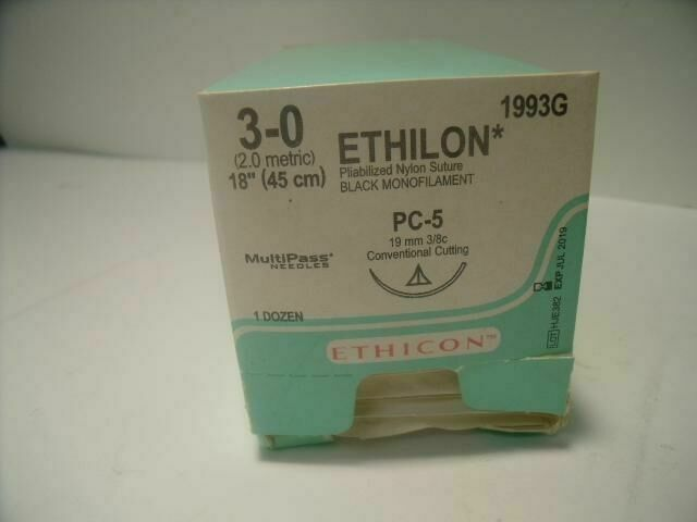 ETHICON VARIOUS  ETHILON NYLON SUTURE