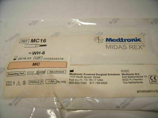 MEDTRONIC MC16  MC MIDAS REX MATCH HEAD FLUTED CUTTING BURR