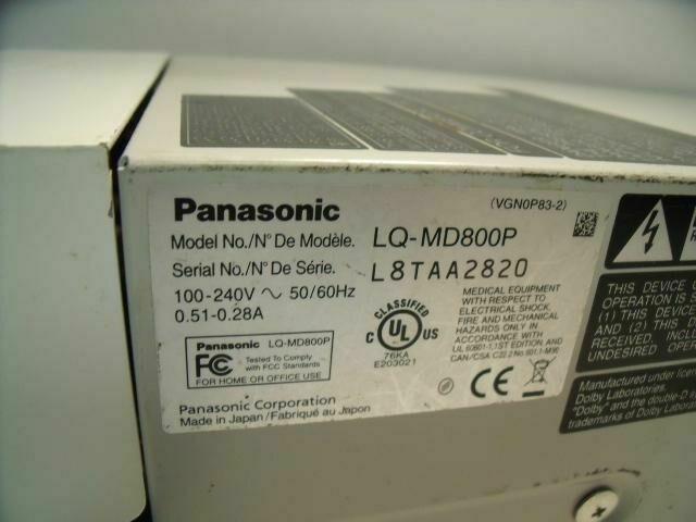 PANASONIC LQ-MD800     Monitor