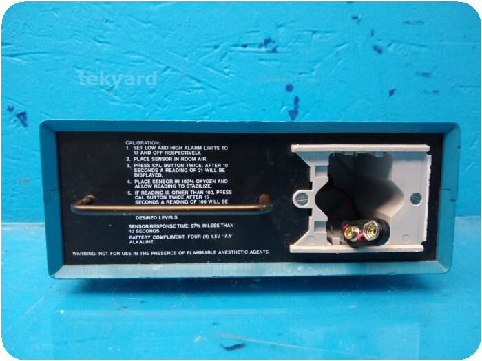 TELEDYNE ELECTRONIC DEVICES Devices Portable Oxygen Monitor