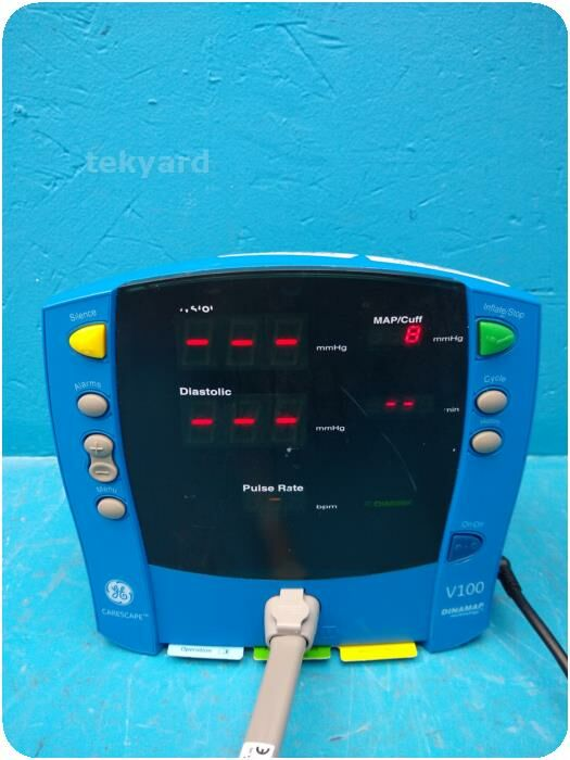 GE CARESCAPE DINAMAP V100 Vital Signs Patient Monitor