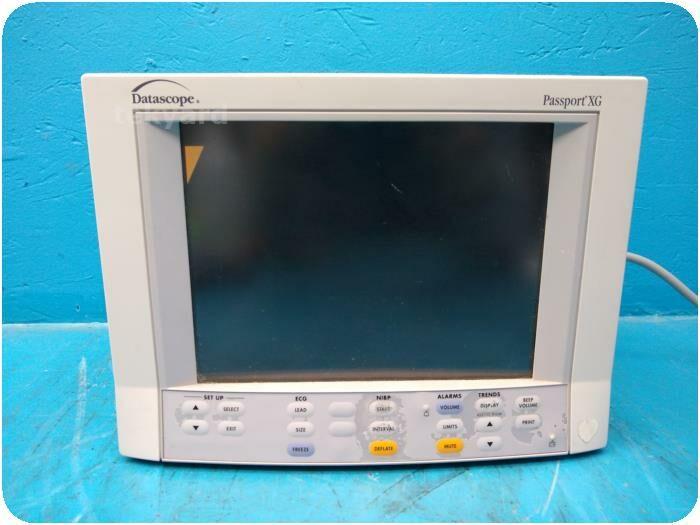 DATASCOPE Passport XG 0998-00-0134-04 Multi-Parameter Patient Monitor