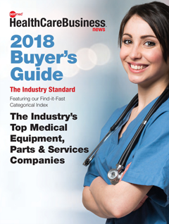 DOTmed 2018 Buyer's Guide Cover