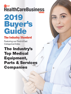 DOTmed 2019 Buyer's Guide Cover