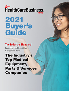DOTmed 2021 Buyer's Guide Cover