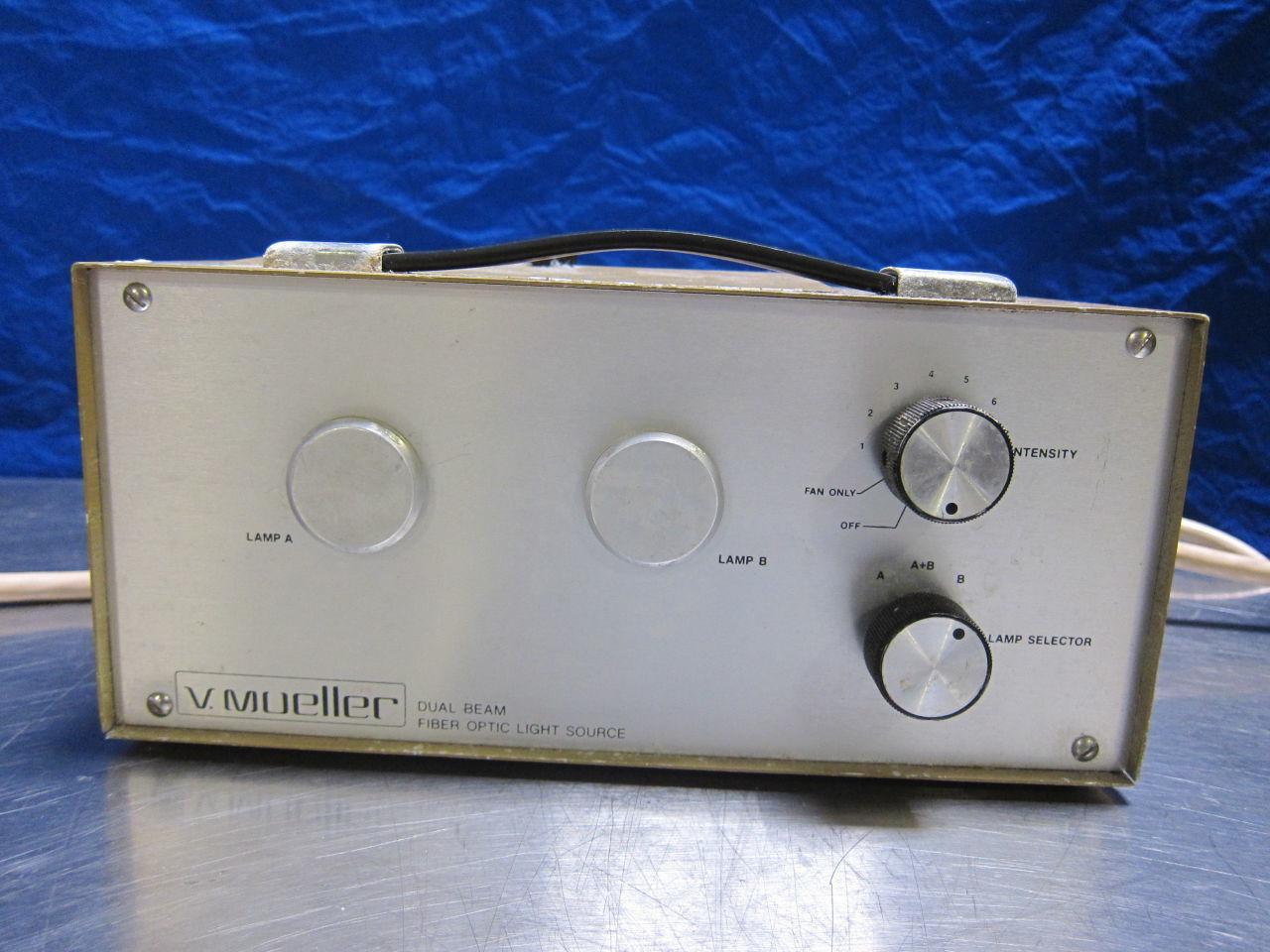 V. MUELLER Dual Beam Light Source for sale
