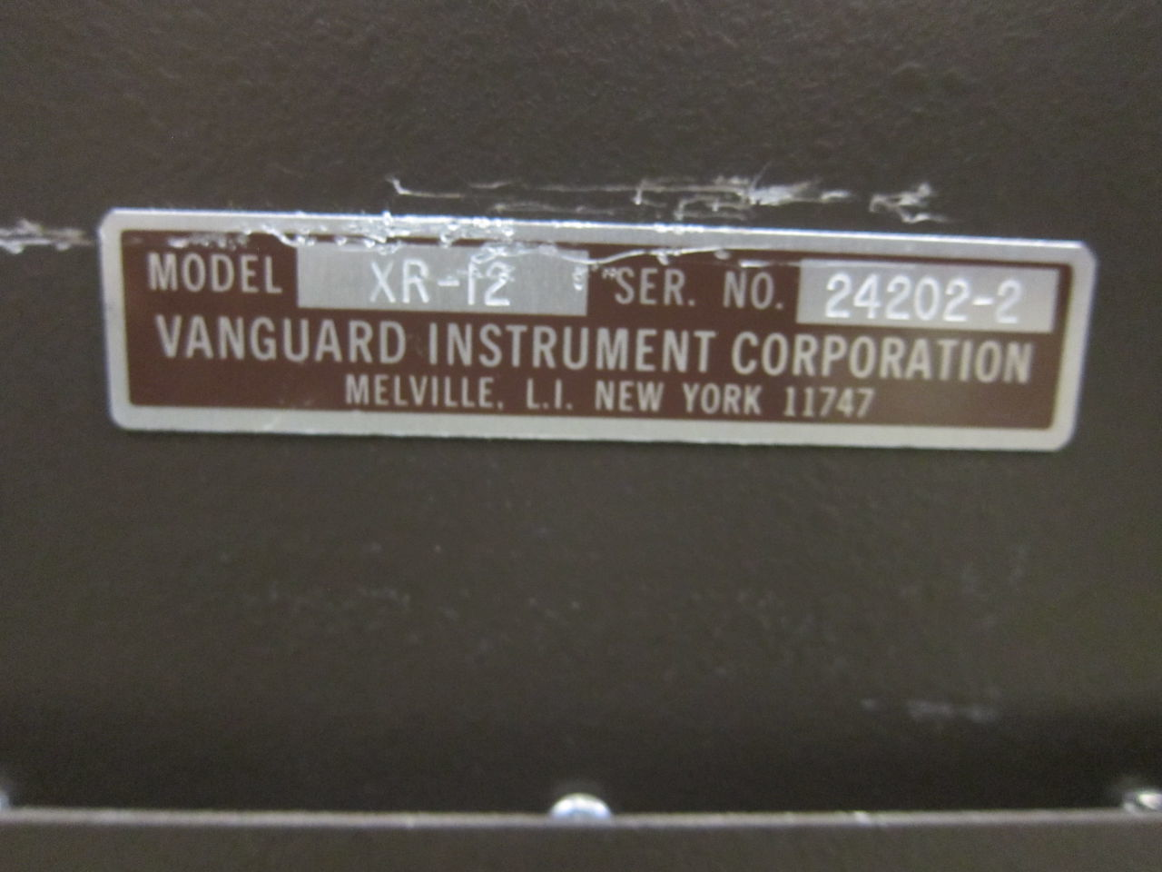 VANGUARD INSTRUMENTS CORP unknown Film Processor for sale