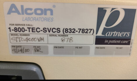 ALCON Surgical Series 10,000 Ocutome Vitrectomy Instrument Ocutome for sale
