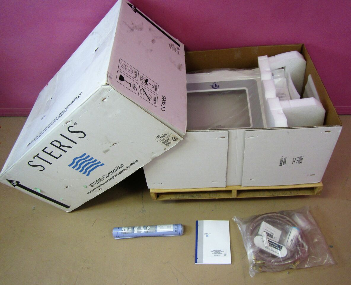STERIS NEW IN BOX System 1E Liquid Chemical Sterilant Processor Endoscope Reprocessor Sterilizer