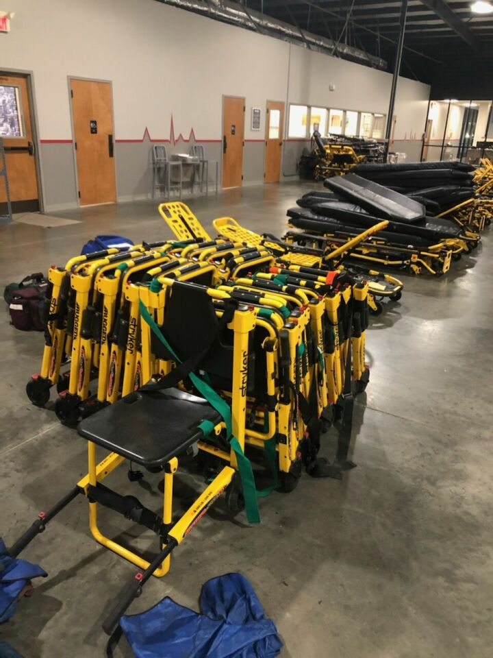 STRYKER Stair Chair Extrication Device