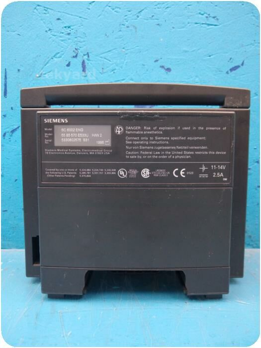SIEMENS SC 6002 ENG  Patient Monitor for sale