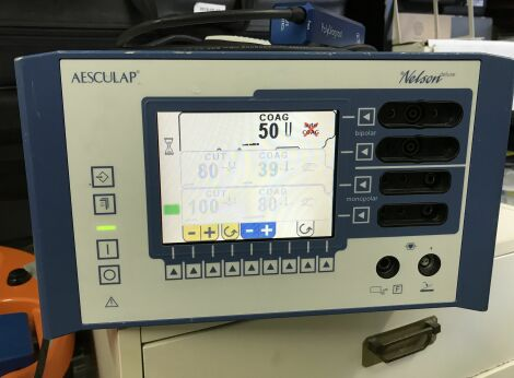 AESCULAP GN 640 Nelson Deluxe Electrosurgical Unit