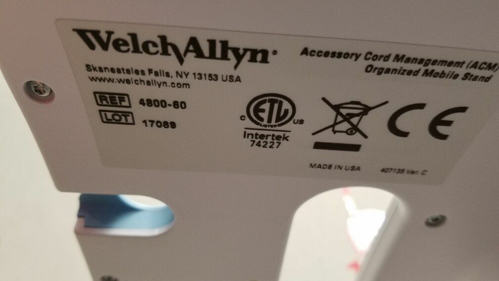 WELCH ALLYN 4800 Monitor Stand for sale