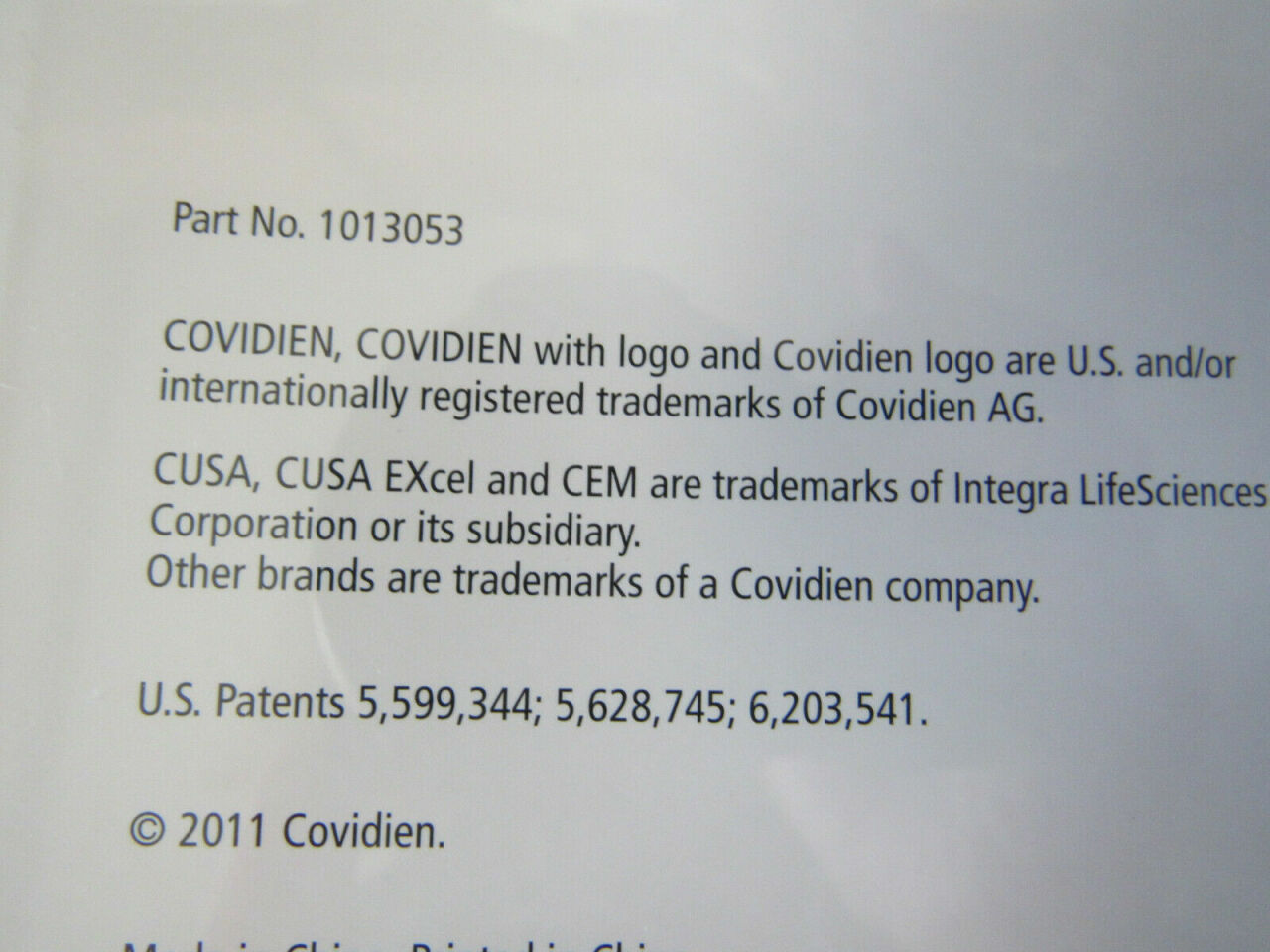 COVIDIEN Force FX-CS Electrosurgical Generator Manuals for sale
