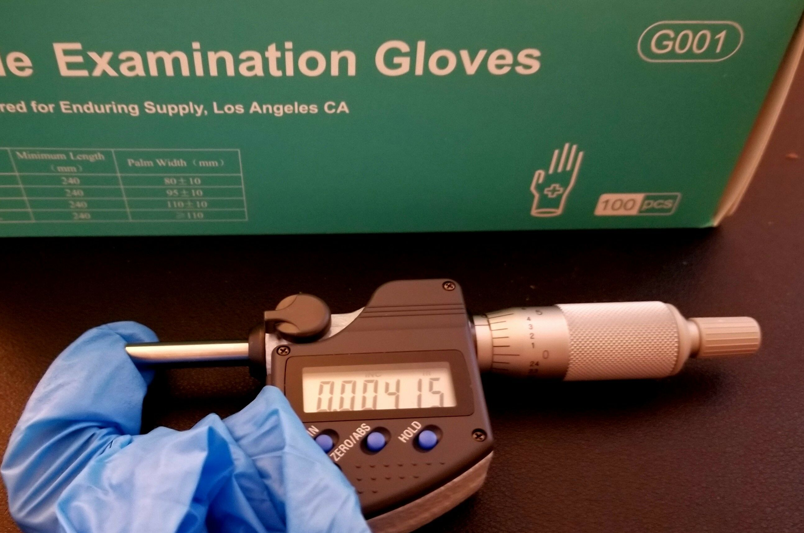 PURISM 4mil Nitrile Exam PF Gloves Examination Gloves