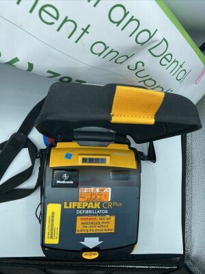 LIFEPAK LIFEPACK CR PLUS DEFIBILLATOR worked condition when they were removed from Hospital Defibrillator